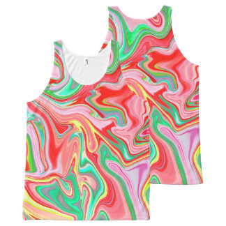 Summer Abstract2 - Tank top -unisex All-Over Print Tank Top
