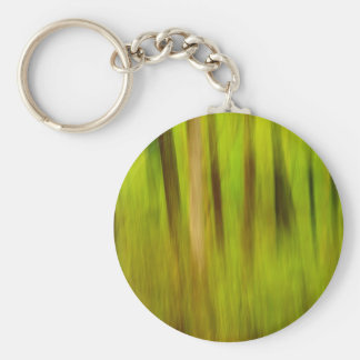 Summer Abstract Keychain