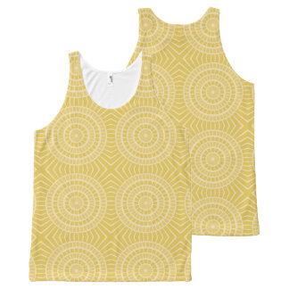 Summer abstract sunshine tank top All-Over print tank top