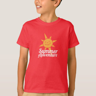 Summer Adventure Main Camp Logo - child T-Shirt