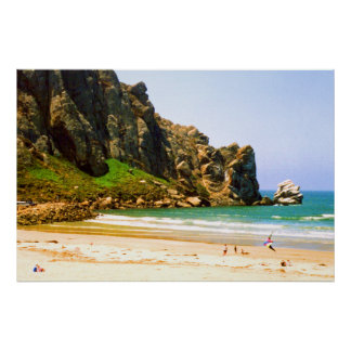 Summer Afternoon by Morro Rock Poster