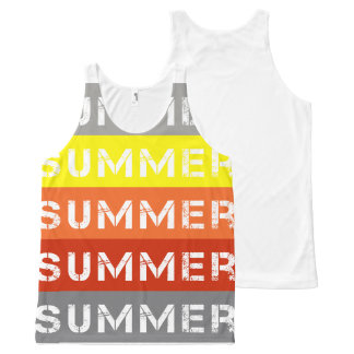 Summer All-Over Print Tank Top