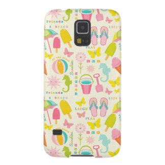 Summer At The Beach Galaxy S5 Case