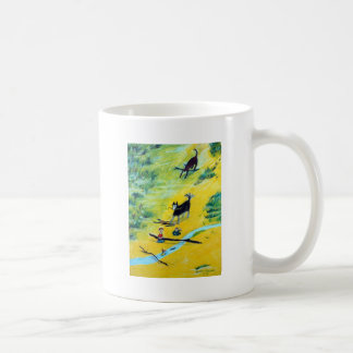 Summer at the Beach Basic White Mug
