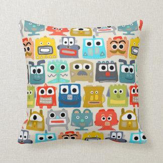 summer baby robots cushion