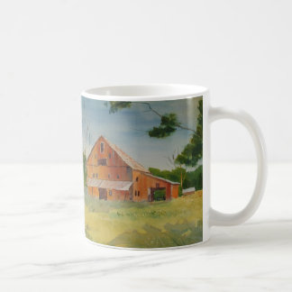 Summer Barn and Cow Path Mug