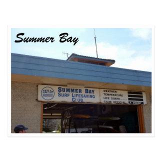 summer bay slsc postcard