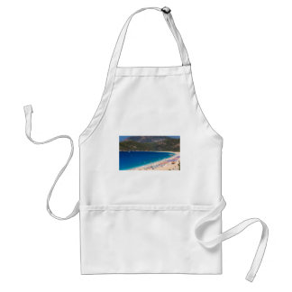 Summer Beach and Mountains Apron