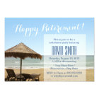 Summer Beach Chairs Retirement Party Invitations