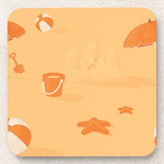 Summer Beach Coasters