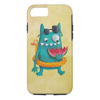 Summer Beach Monster iPhone 8/7 Case