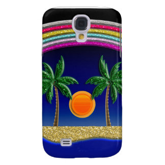 Summer Beach Paradise Galaxy S4 Case