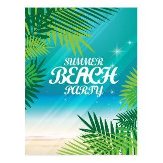 Summer Beach Party Postcard