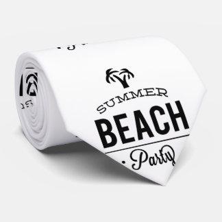 Summer Beach Party Tie