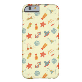Summer Beach Pattern Barely There iPhone 6 Case