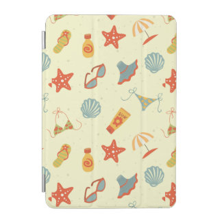 Summer Beach Pattern iPad Mini Cover