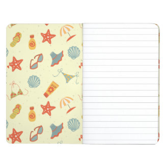 Summer Beach Pattern Journal