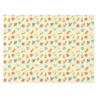 Summer Beach Pattern Tablecloth