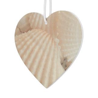 Summer Beach Sea Shells Ocean Tropical Heart Car Air Freshener