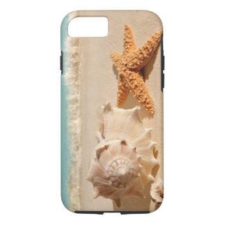 Summer beach seashells iPhone 7 case