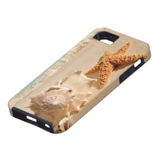Summer beach seashells iphone case