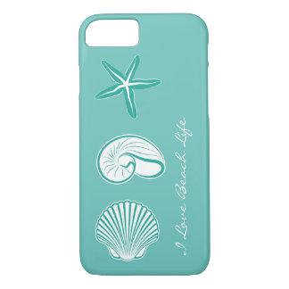 Summer Beach Theme iPhone 7 Case