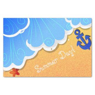 Summer Beach tissue Tissue Paper