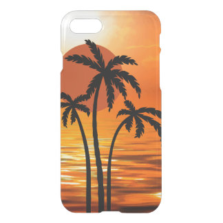 Summer Beach Tropical Design iPhone 7 Case