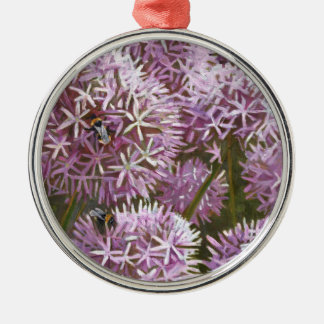 Summer bees 2014 christmas ornament