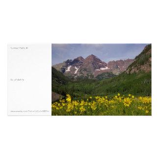 Summer Bells #1 Photo Card Template