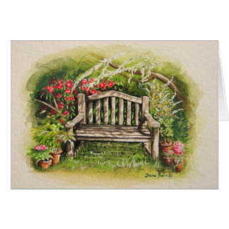 Summer Bench Card
