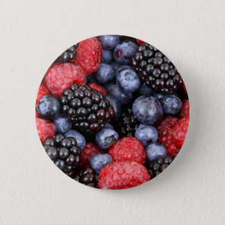 Summer Berries Button