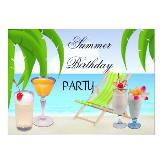 Summer Cocktail Party Gifts T Shirts Art Posters