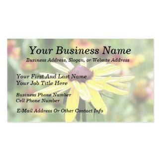 Summer Black Eyed Susan Business Cards