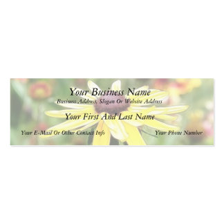 Summer Black Eyed Susan Business Card