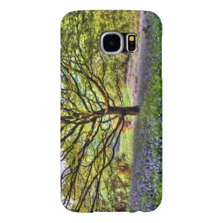 Summer bluebells in a woodland setting samsung galaxy s6 cases