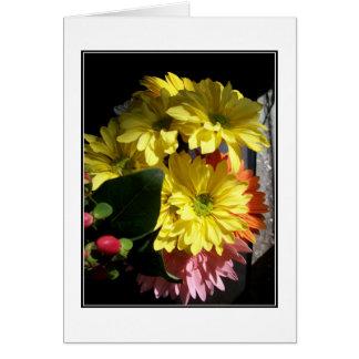 'Summer Bouquet in Sunlight' Blank Note Card