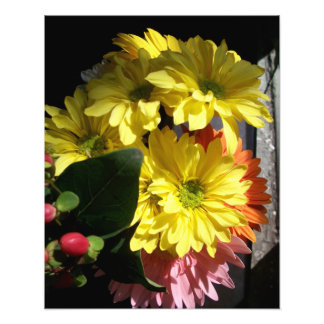 'Summer Bouquet in Sunlight' Photographic Print