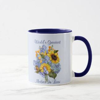 Summer Bouquet - Mother In Law Mug
