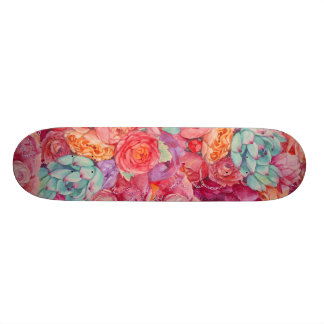 Summer bouquet skate boards