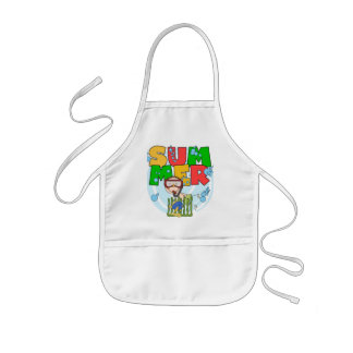 SUMMER - Boy Underwater T-shirts and Gifts Aprons