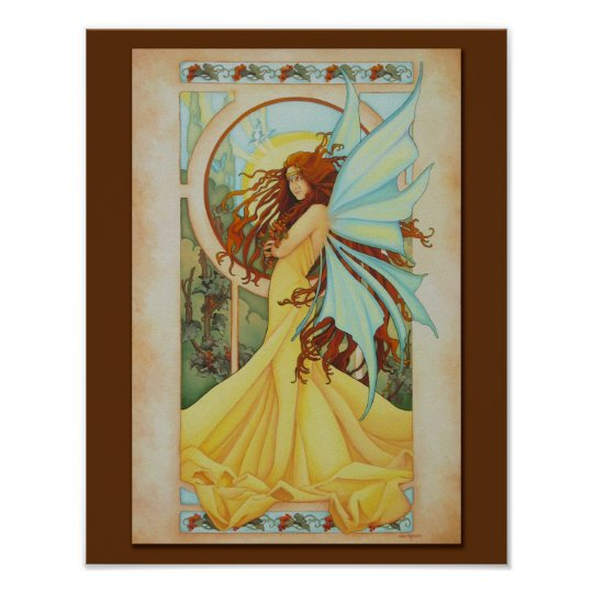 Summer Breeze Faery Print 11 x 14