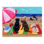 Summer Breeze Labradors Painting