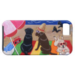 Summer Breeze Labradors Painting iPhone 5 Case