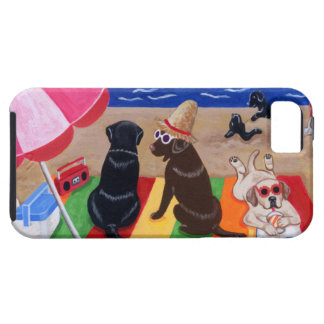 Summer Breeze Labradors Painting iPhone 5 Cover