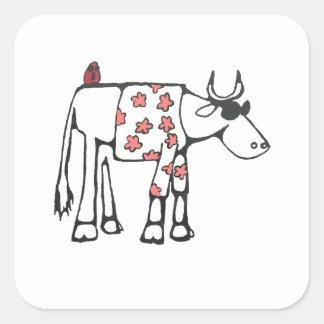 Summer Bull Sticker