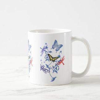 Summer Butterflies Basic White Mug
