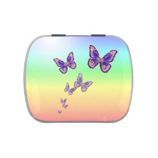 Summer Butterflies. Candy Tins
