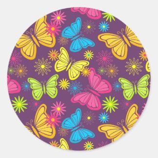 Summer butterflies sticker