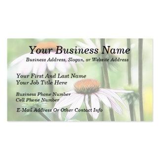 Summer Butterfly Garden Business Card Template